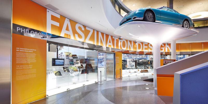 Faszination Design – Mercedes-Benz Museum Stuttgart