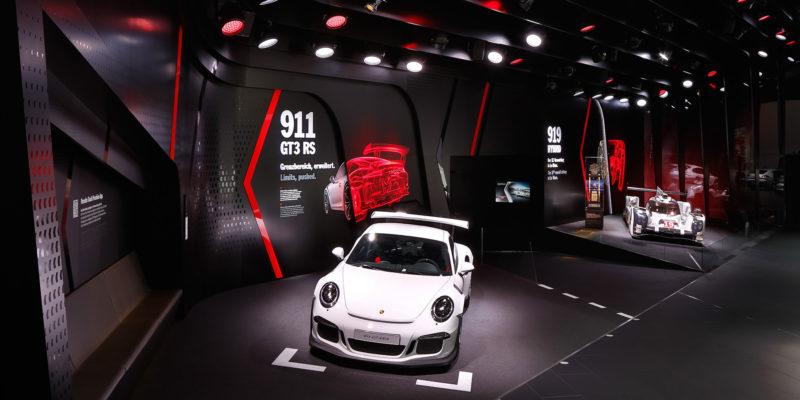 Porsche IAA, Frankfurt Main