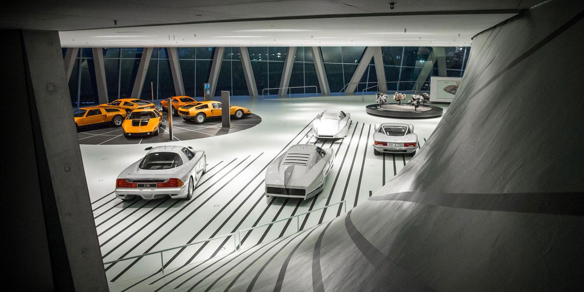 Sonderausstellung Mercedes-Benz Museum Stuttgart