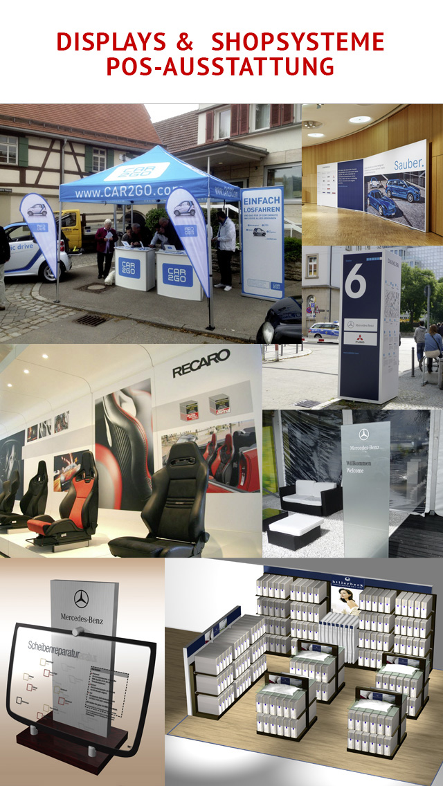 Stadelmayer – Displays & Shopsysteme, POS-Ausstattung