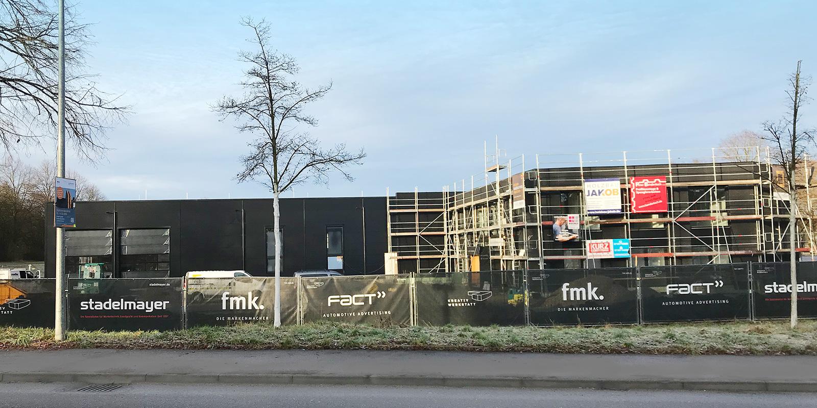 14. Januar 2020 | Letzte Fassadenarbeiten